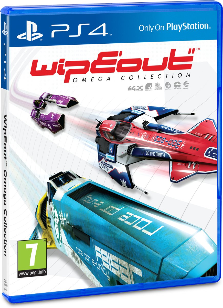 Wipeout Omega Collection -  VR PlayStation 4