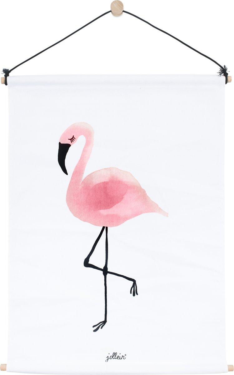 Jollein Flamingo Poster 42x60cm canvas