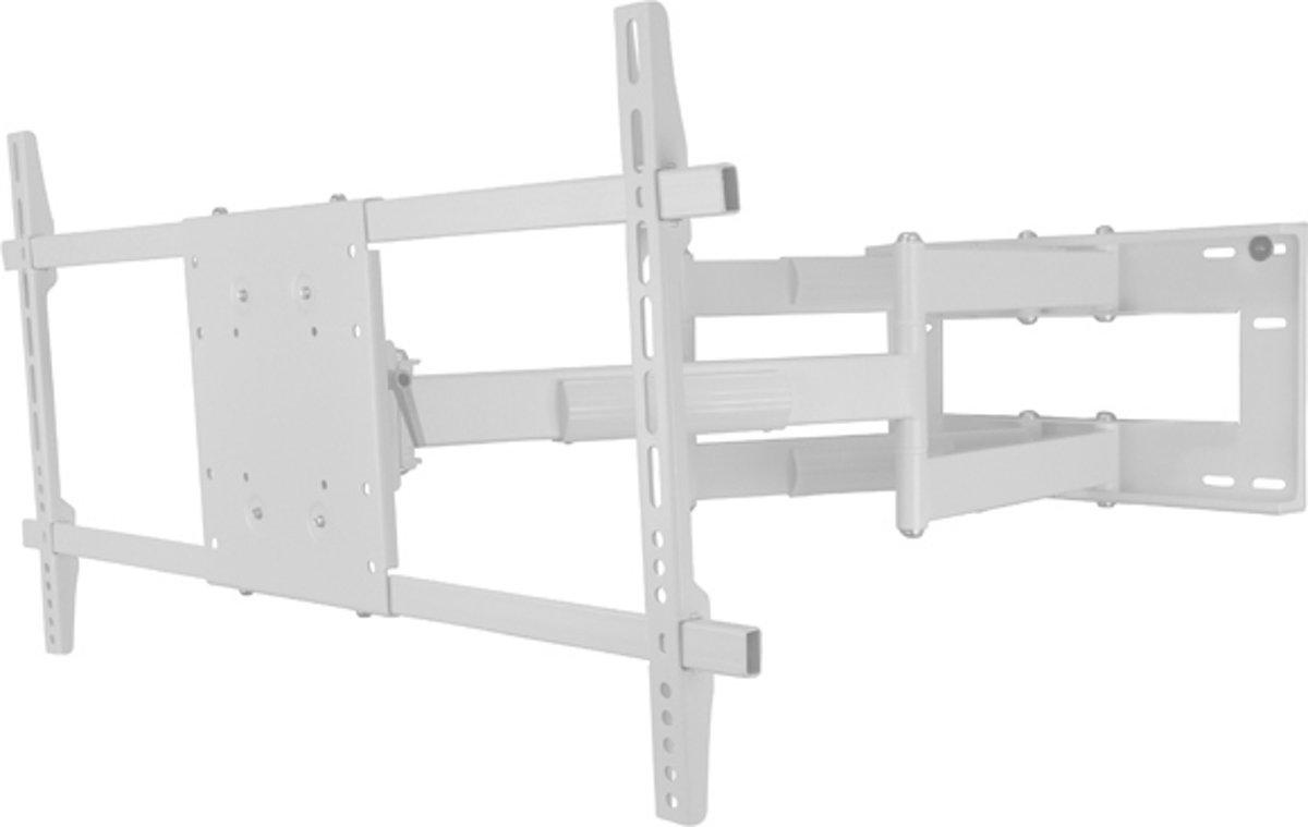 DQ Reach XXL 91 - Kantelbare en draaibare muurbeugel - Geschikt voor tv's van 42 t/m 80 inch - Wit kopen