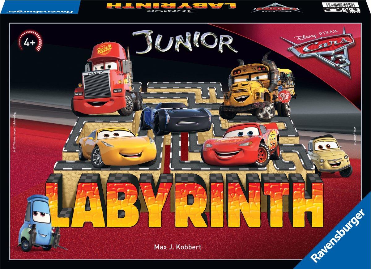 Ravensburger Labyrinth junior Disney Cars 3 - bordspel