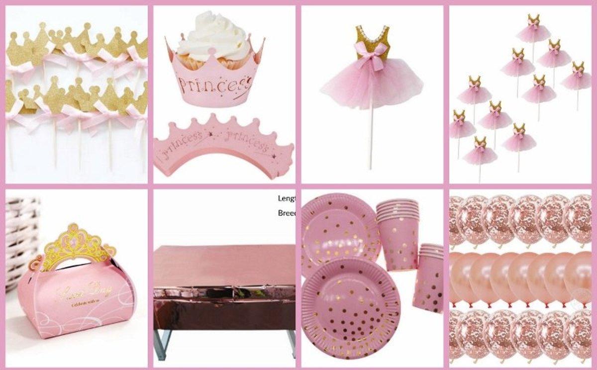 Prinsessenfeestpakket