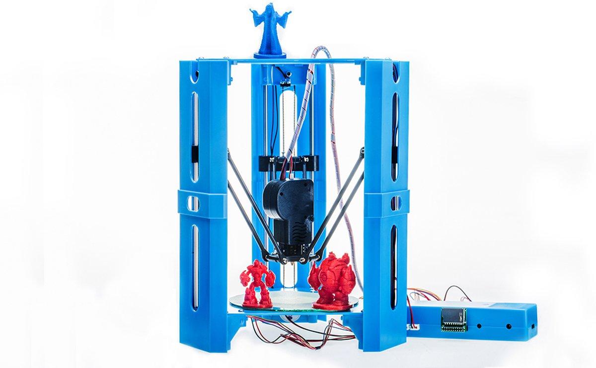 Tech Supplies | The Tower Hoge precisie 3D Printer 100mm/s, 50-350 micron layer resolutie, compatible met USB, SD kaart en met elke Windows, Mac of Linux computer