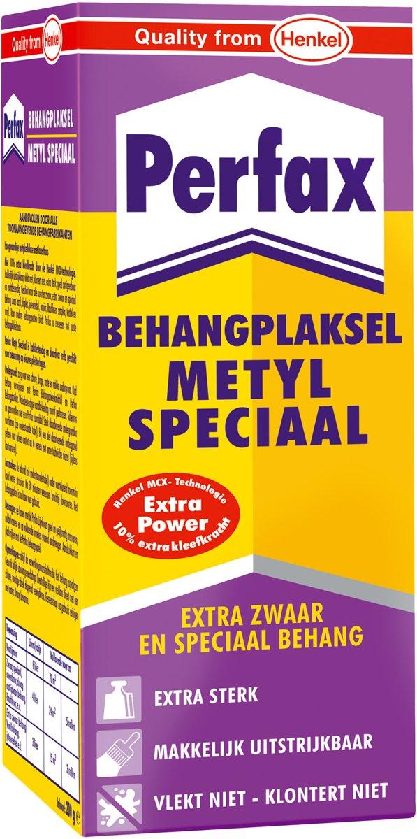 Perfax Behanglijm Metyl Speciaal Extra Zwaar en Speciaal behang - 200 g kopen