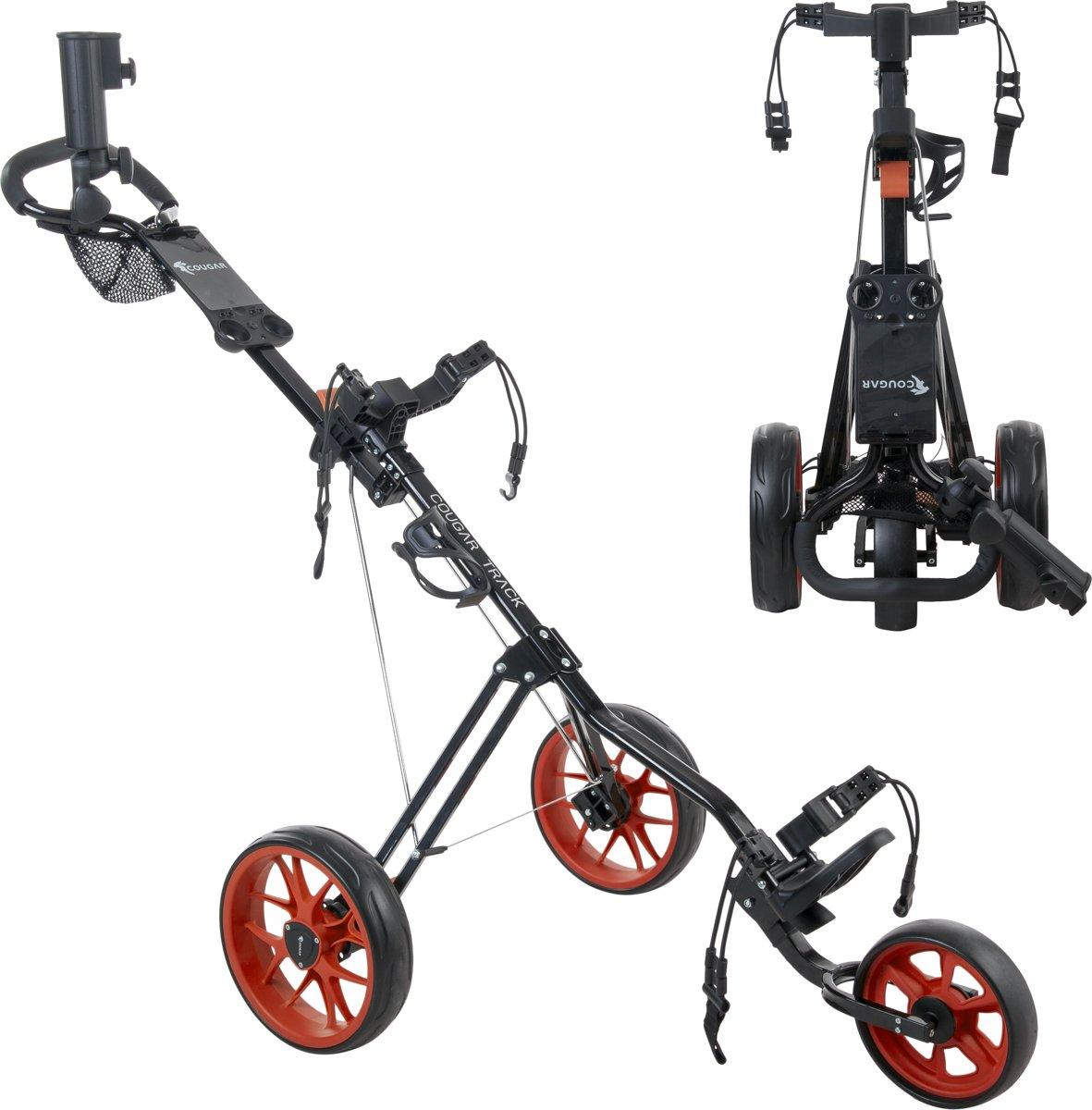 Cougar CO4206004 Golftrolley-Unisex-Maat--Zwart/Rood kopen