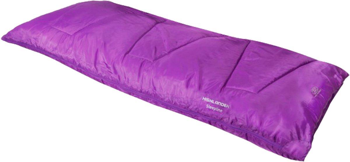 Highlander Sleepline 250 Envelope - Slaapzak - 185x75 cm - Roze kopen