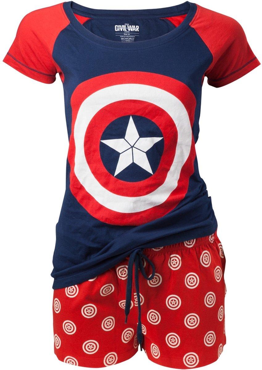 Captain America - Women Shortama - XL