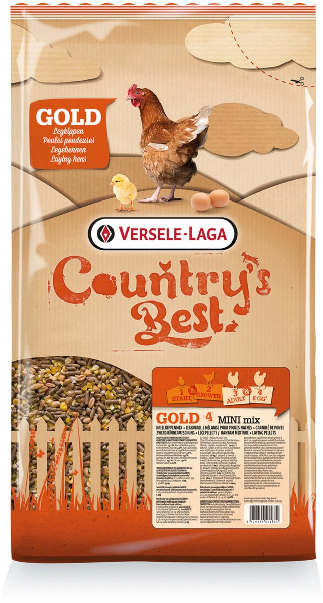 Versele-Laga Country`s Best Gold 4 Mini Mix 5 kg