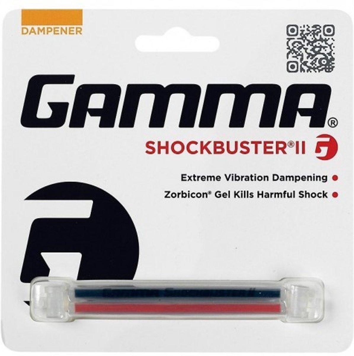 Gamma Shockbuster II (Red/Black) kopen