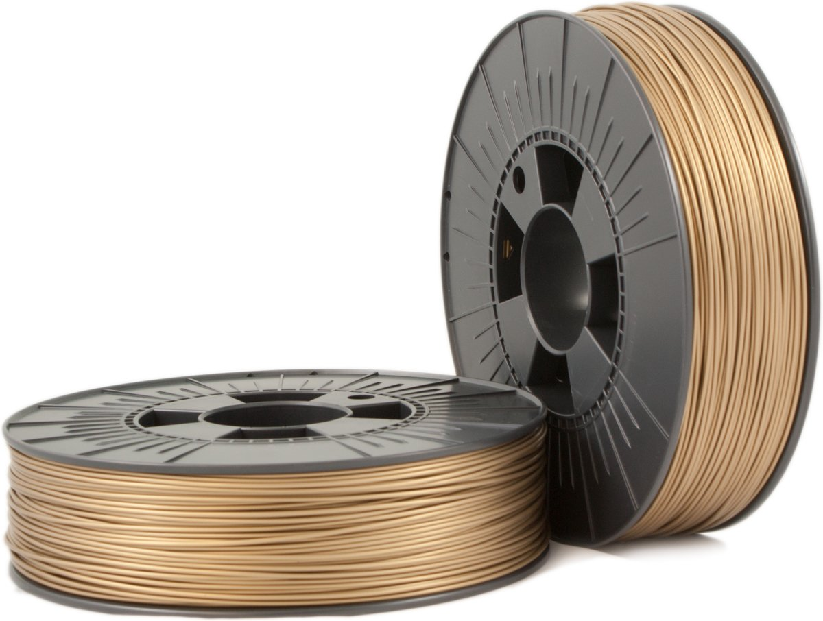 ABS 1,75mm  bronze gold ca. RAL 1036 0,75kg - 3D Filament Supplies