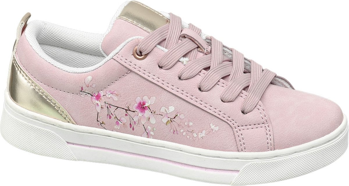 Graceland Kinderen Roze sneaker vetersluiting - Maat 35 kopen