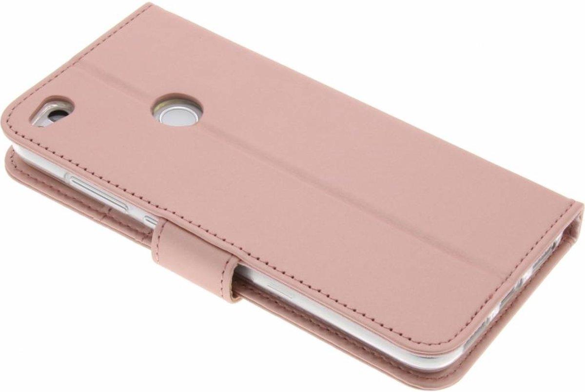 Porte-monnaie Rose Livret Tpu Pour Lite Huawei P8 (2017) zBQAG2