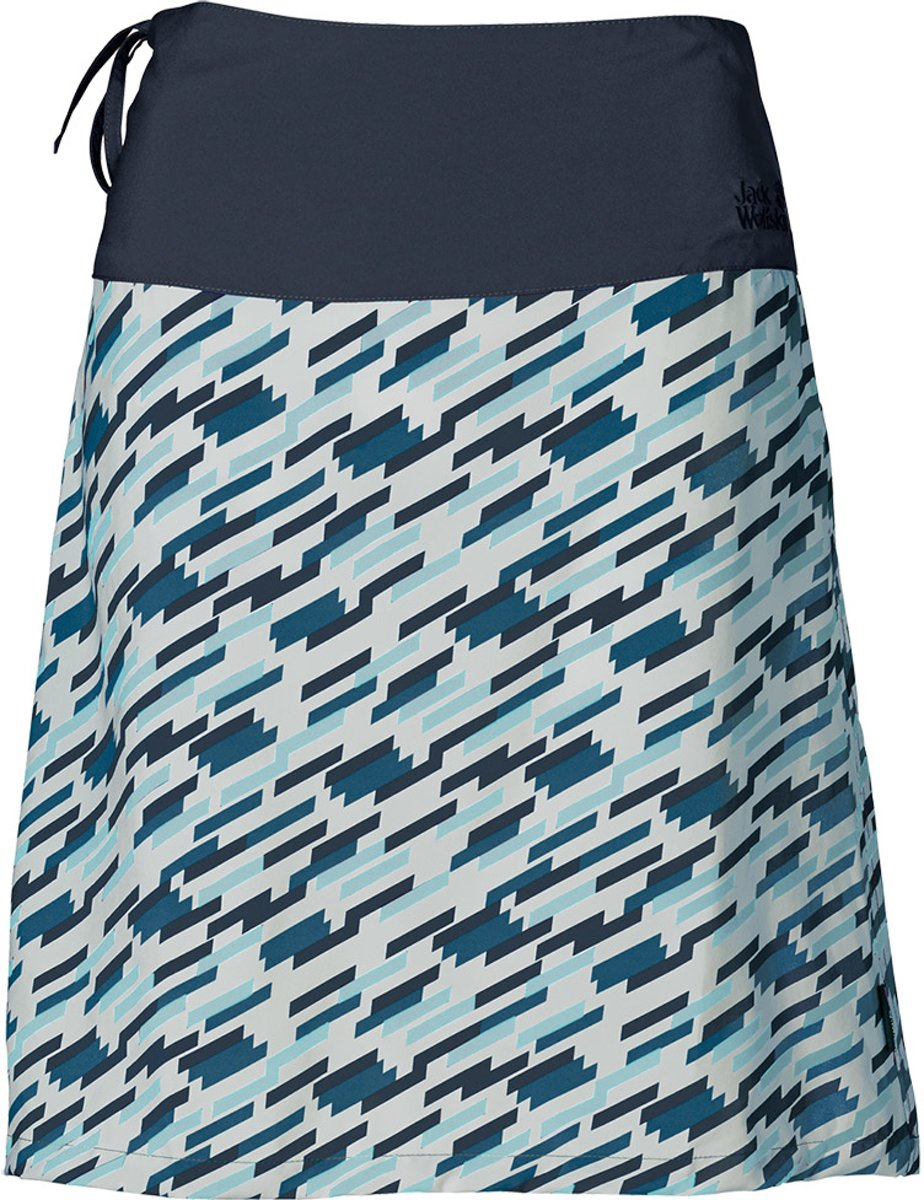 Jack Wolfskin Beaumont Skirt - dames - rok - maat 44 - blauw/wit kopen