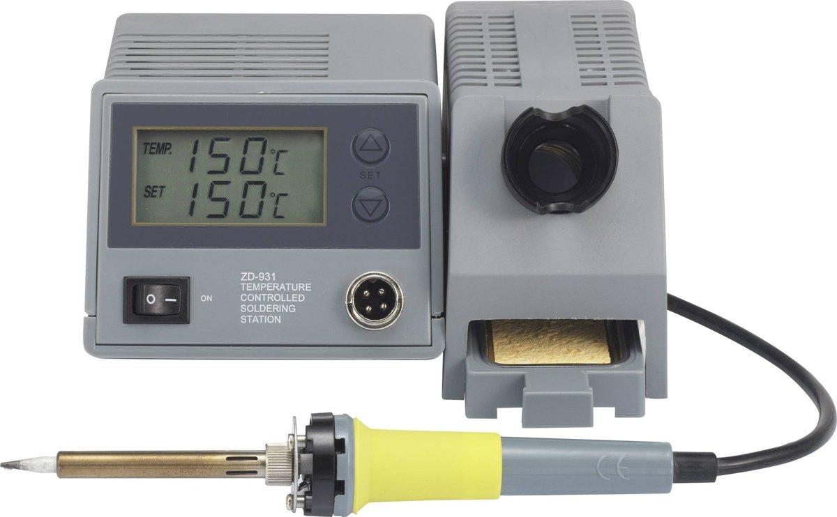 Digitaal soldeerstation 48W 150 tot 450°C Basetech ZD-931 kopen