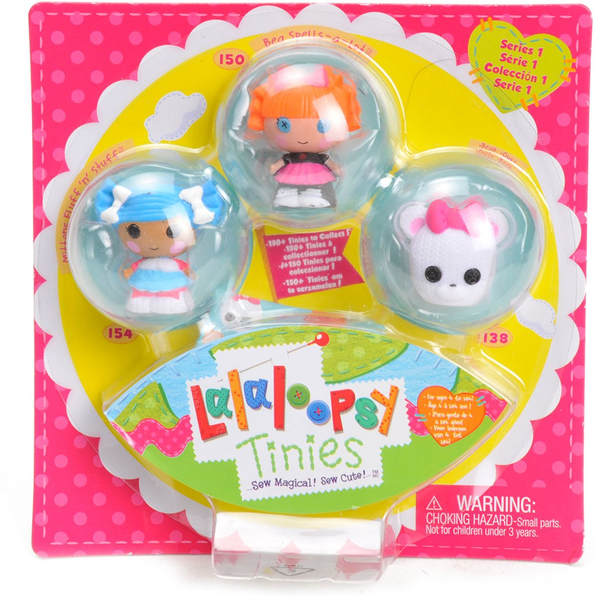 Lalaloopsy Tinies poppetjes 3-pack serie 1