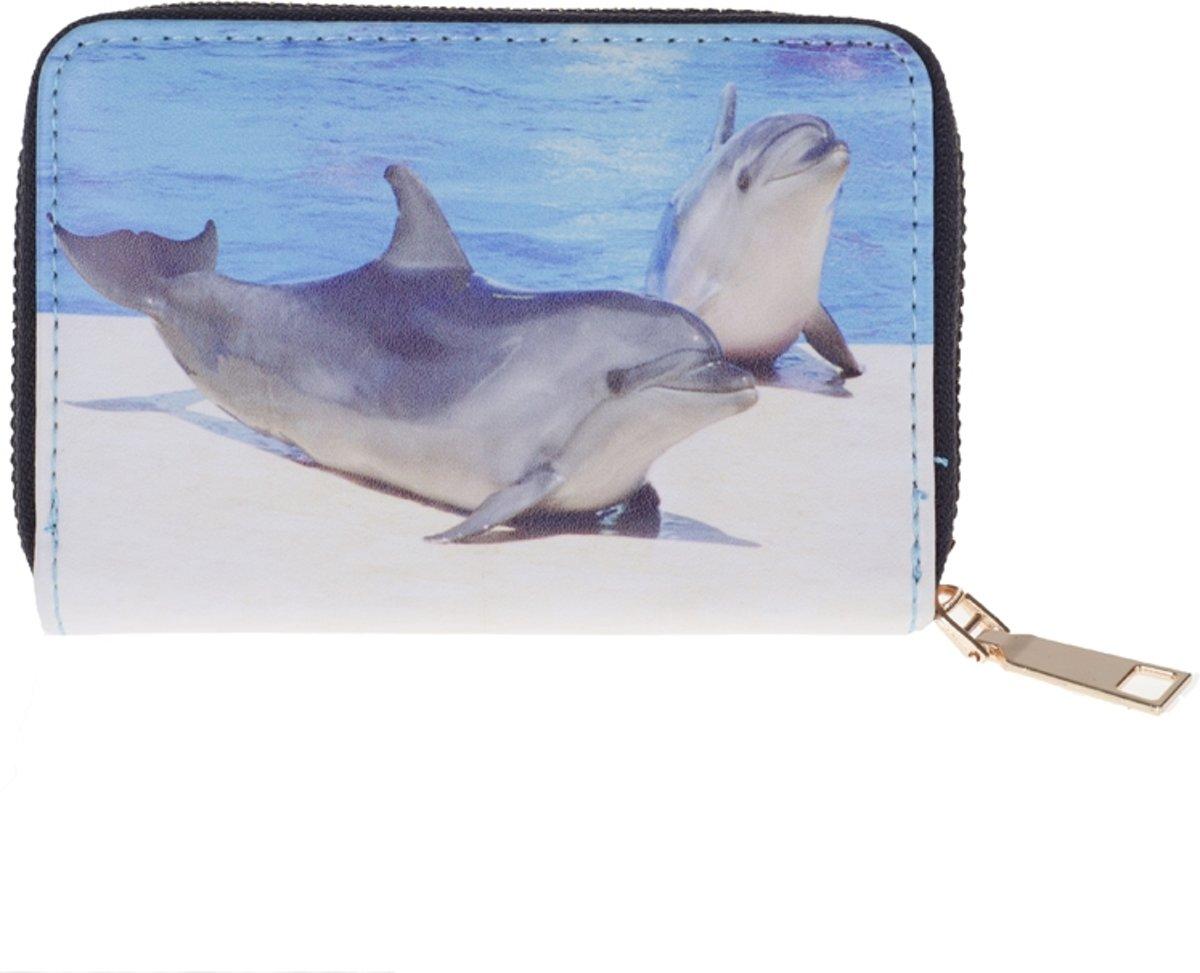portemonnee groot dolfijn