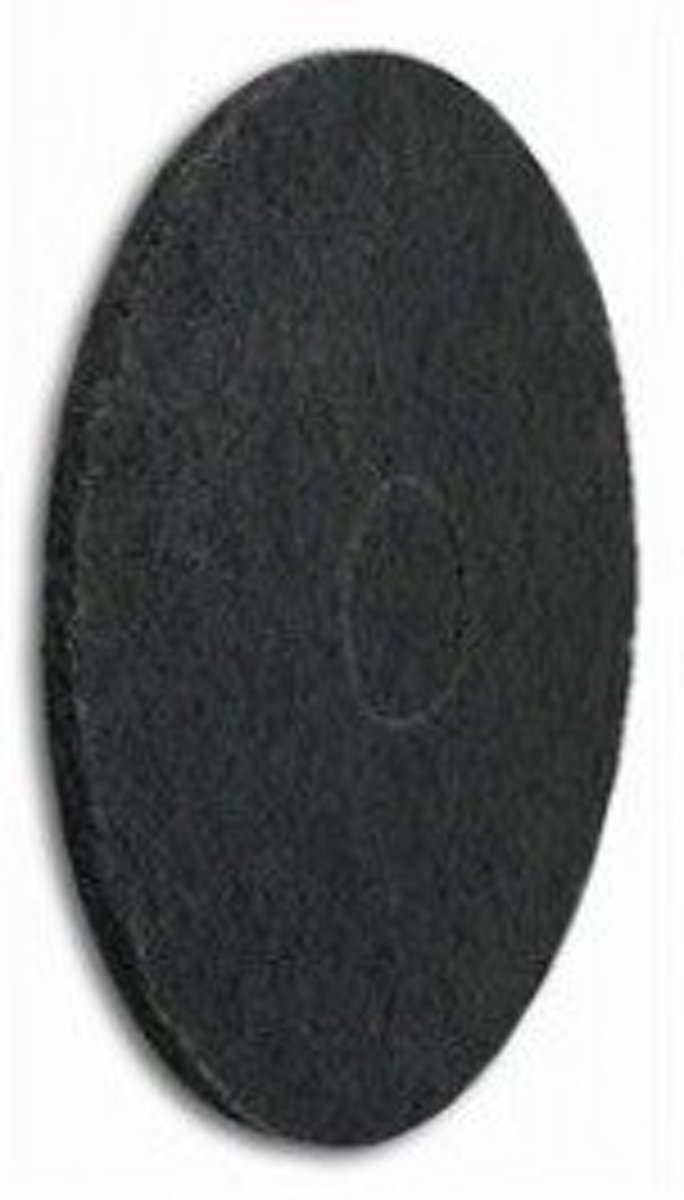 Nylon Pads Zwart - 33 CM, 2CM, 13 inch (High Quality) kopen