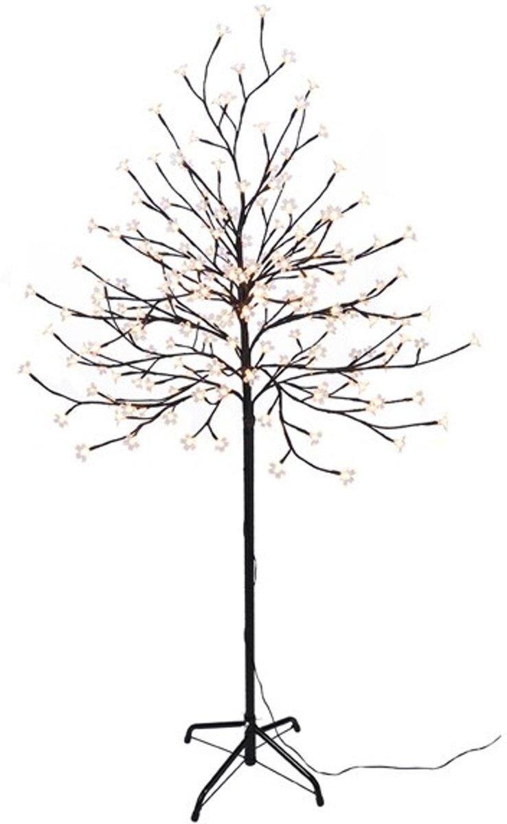 LED boom met bloesem 180 cm warm wit (180 LEDs) voor binnen en buiten kopen