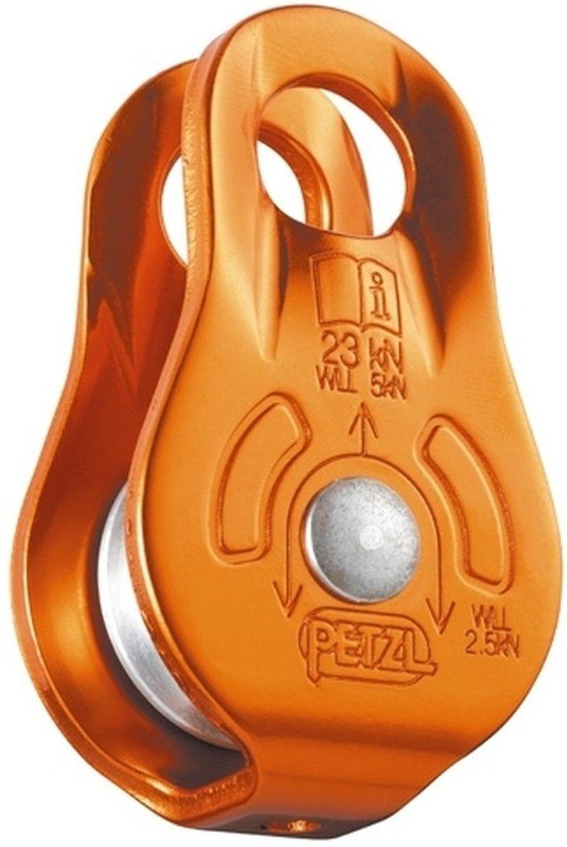 Petzl Fixe compacte katrol met robuuste lagering
