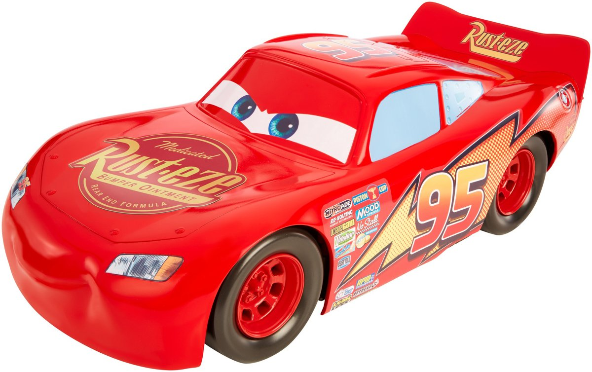 Cars 3 Jumbo McQueen 50cm - Speelgoedauto