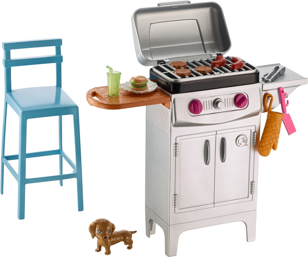 Barbie BBQ Set
