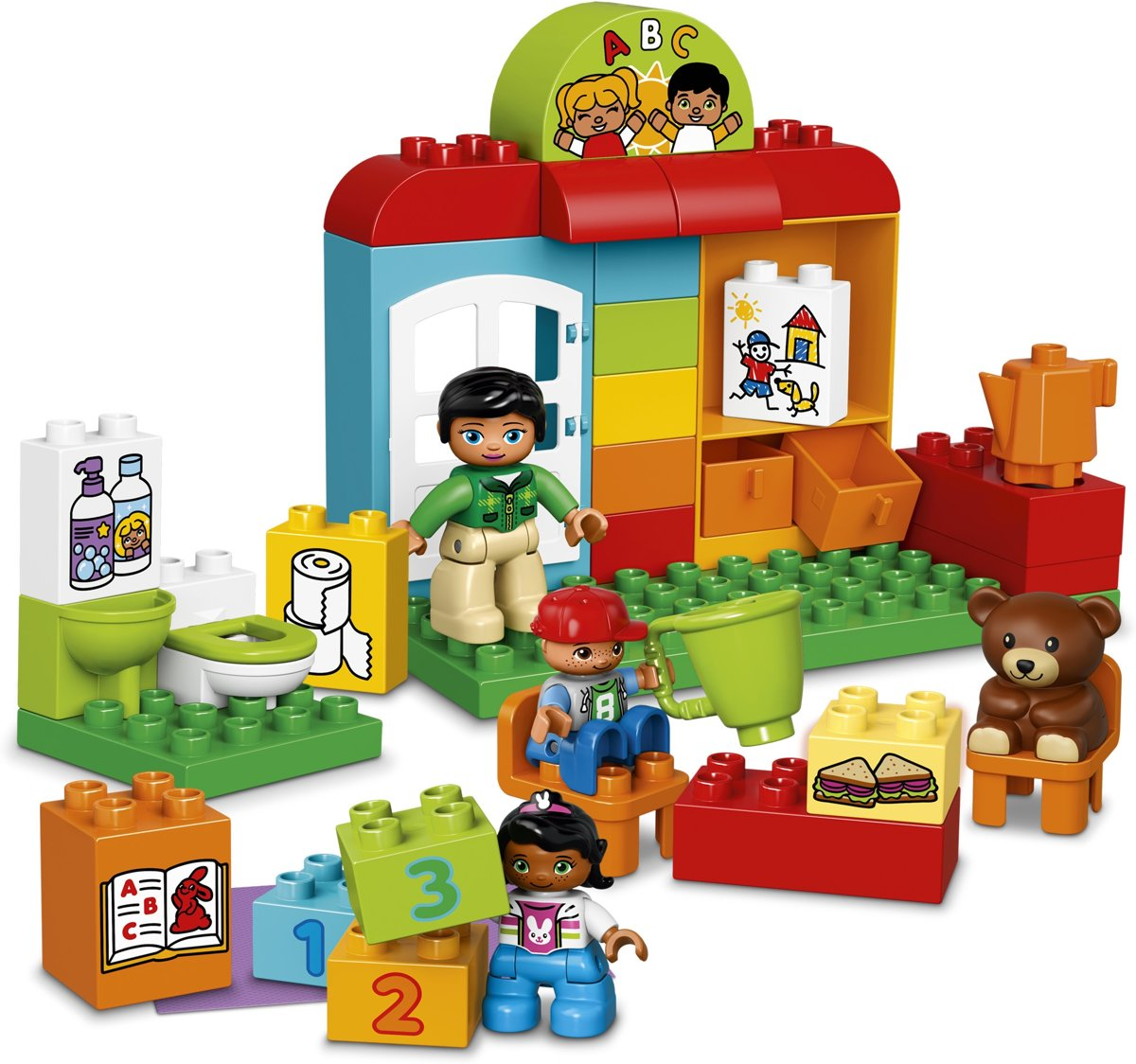 Bolcom Lego Duplo Kleuterklas 10833 Lego Speelgoed
