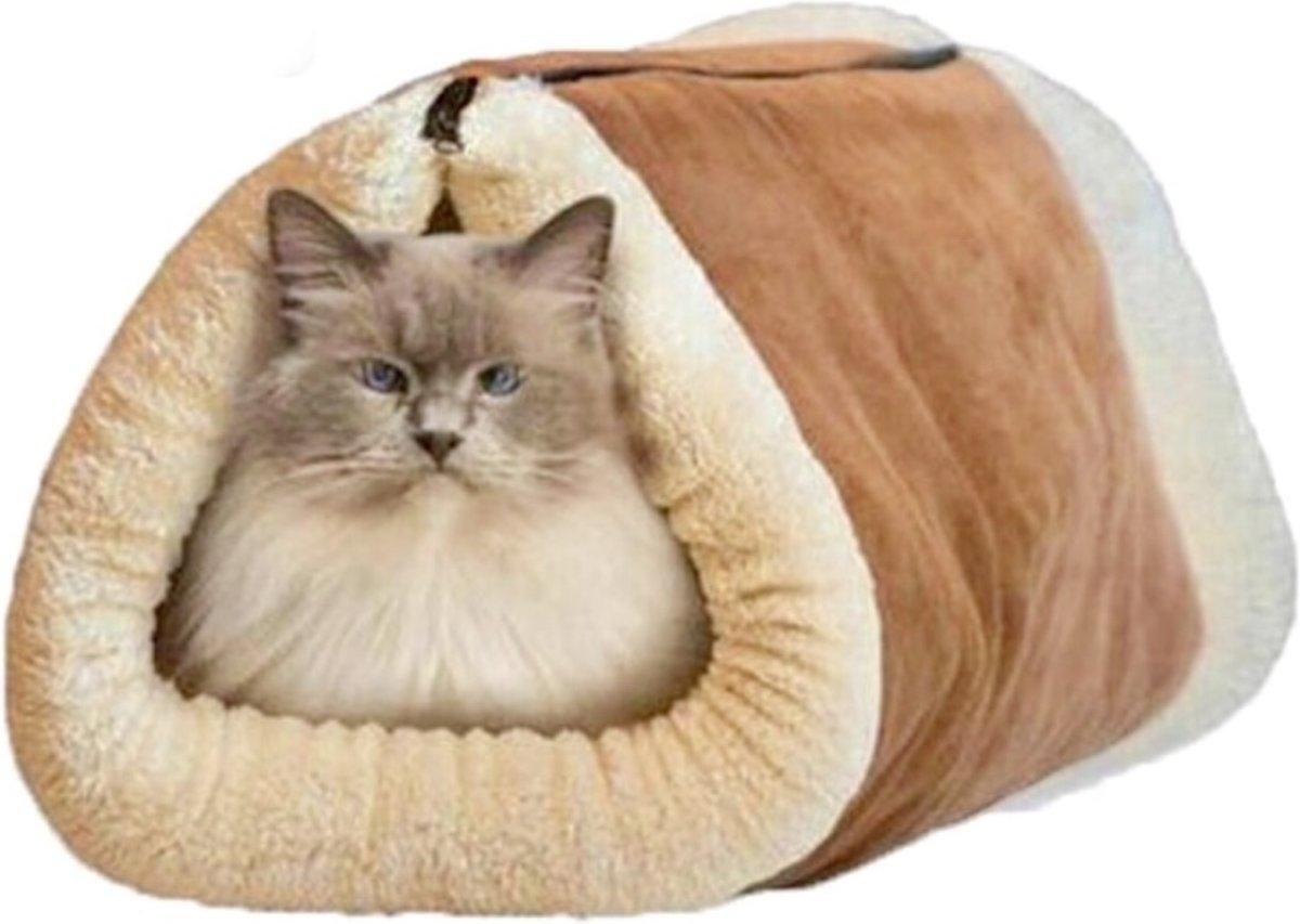 Slaapzak voor dieren - Slaaptunnel voor dieren - Dieren bed - Bed voor dieren