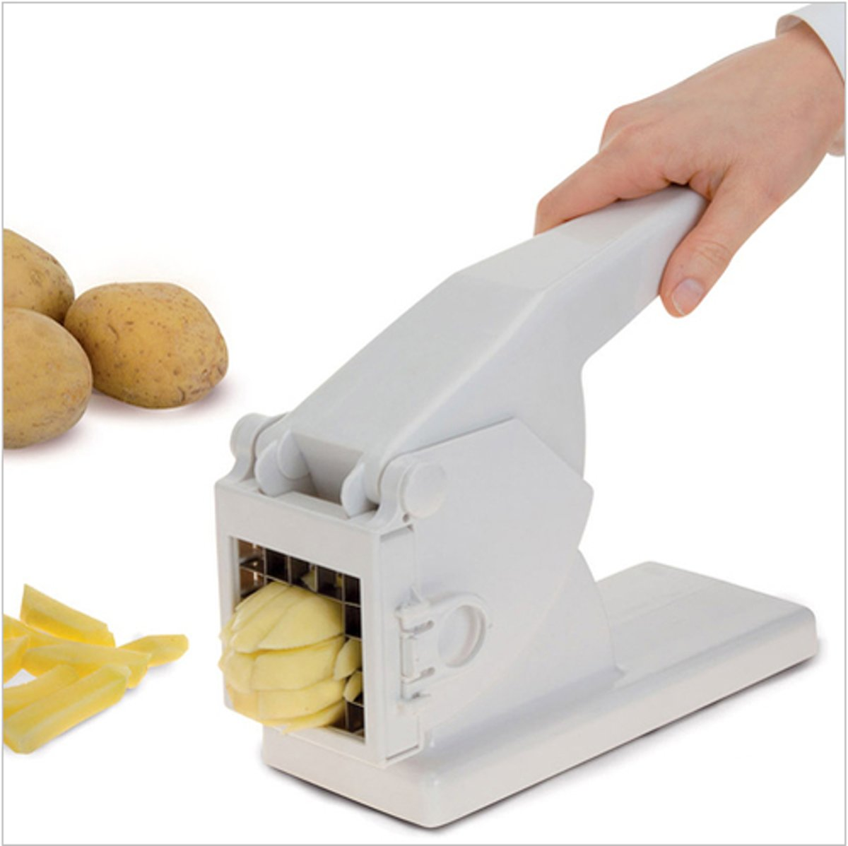 Excellent Houseware patatsnijder - aardappel snijder - kunststof rvs kopen