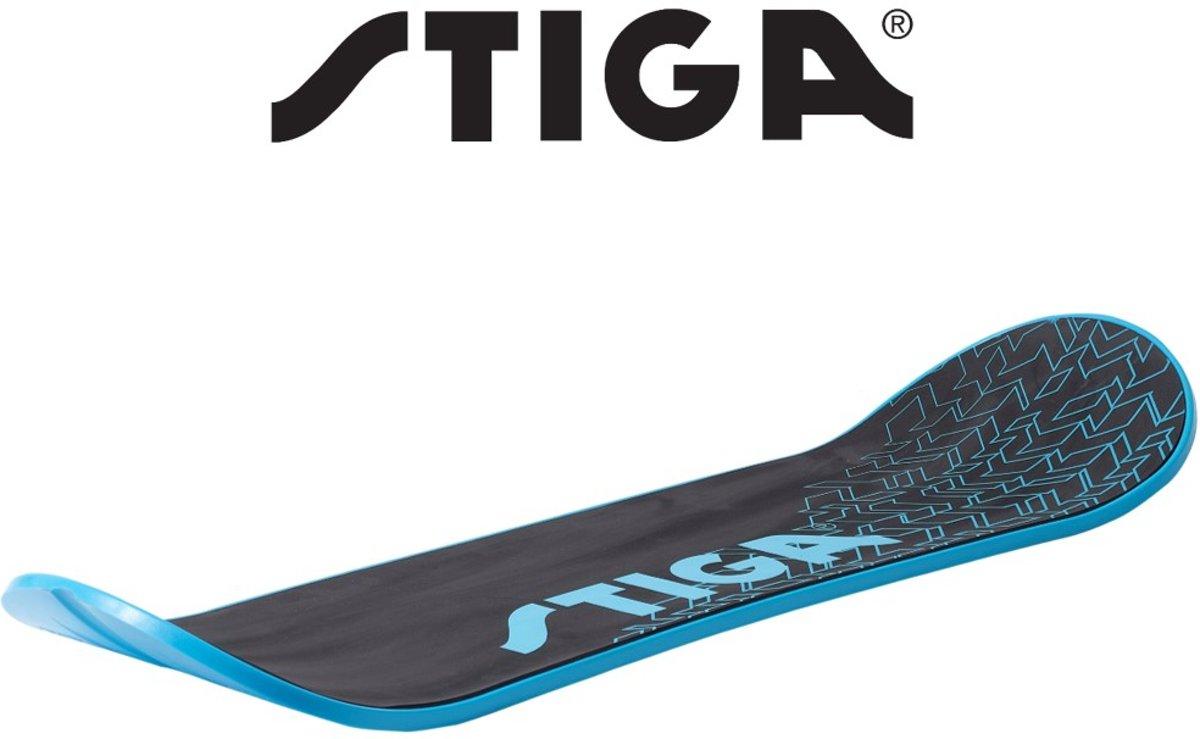 Stiga Snow Skate - Snowboard zonder bindingen - Skateboard sneeuw – Plastic snowboard voor kinderen en volwassenen – Blauw kopen