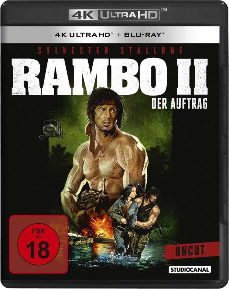 Rambo II - Der Auftrag (Ultra HD Blu-ray & Blu-ray)-