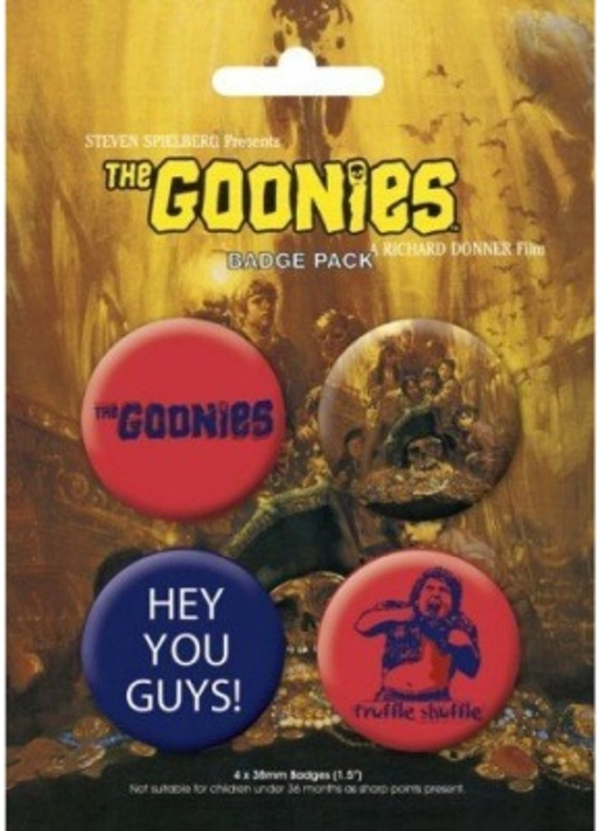The Goonies Buttons - Badge Pack