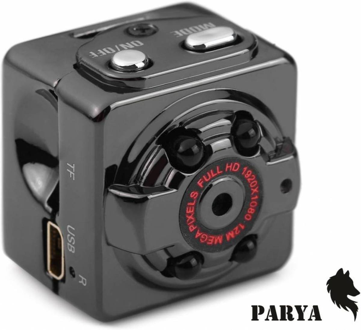 Parya - mini camera - aluminium kopen