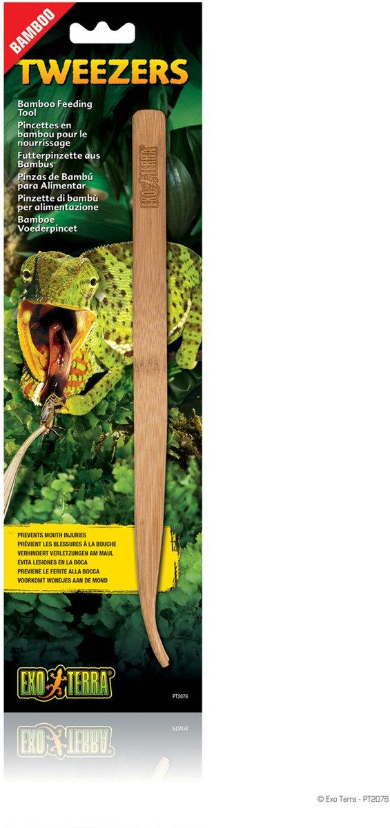 Exo Terra Bamboe Voederpincet per stuk