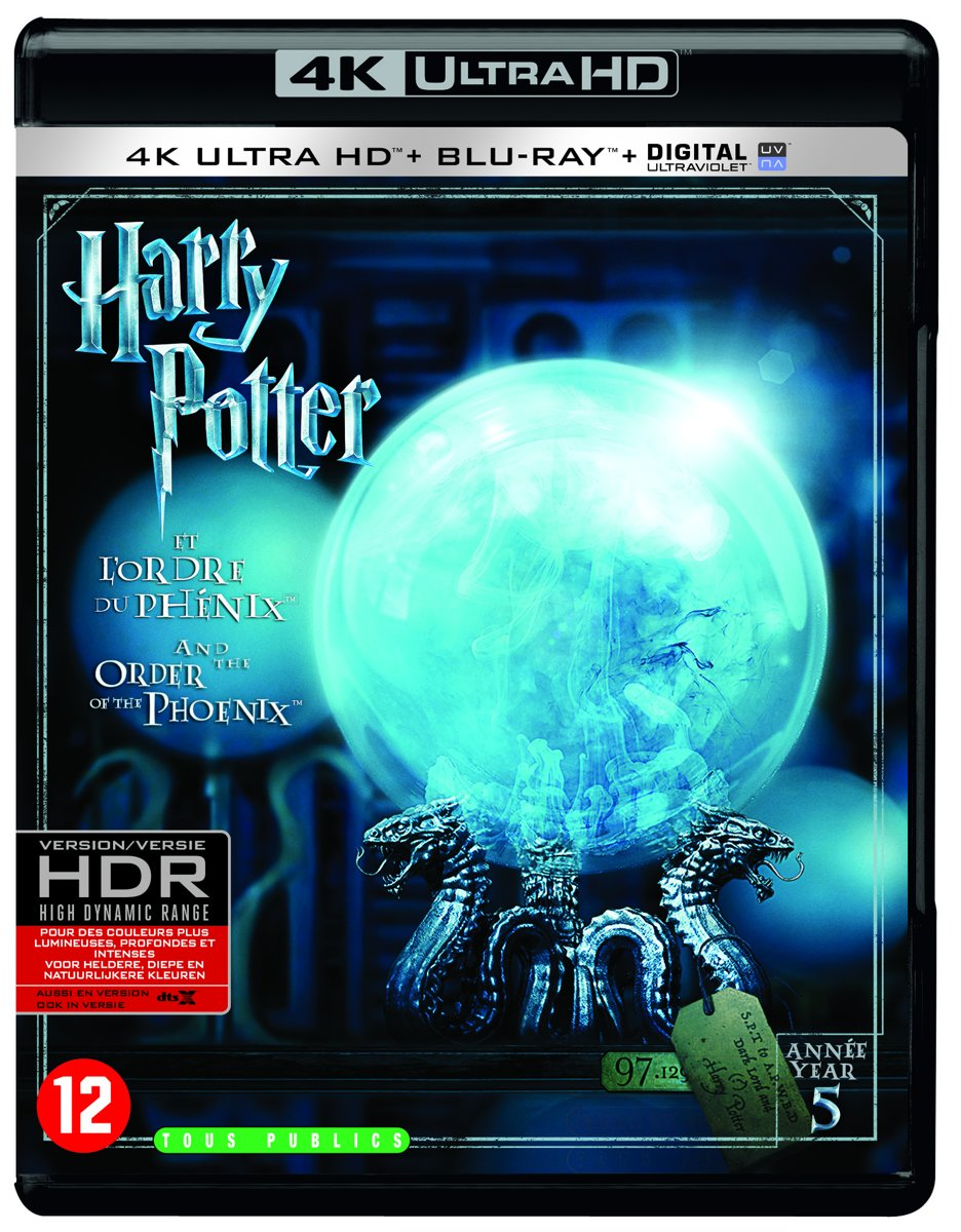 Harry Potter And The Order Of The Phoenix: Part 5 (4K Ultra HD Blu-ray)-