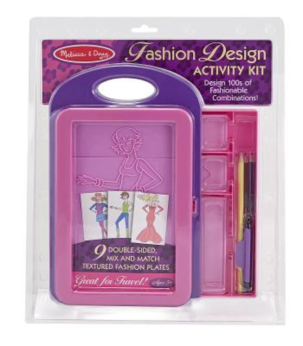Bolcom Fashion Design Activity Kit 4312 9780772043122 Boeken