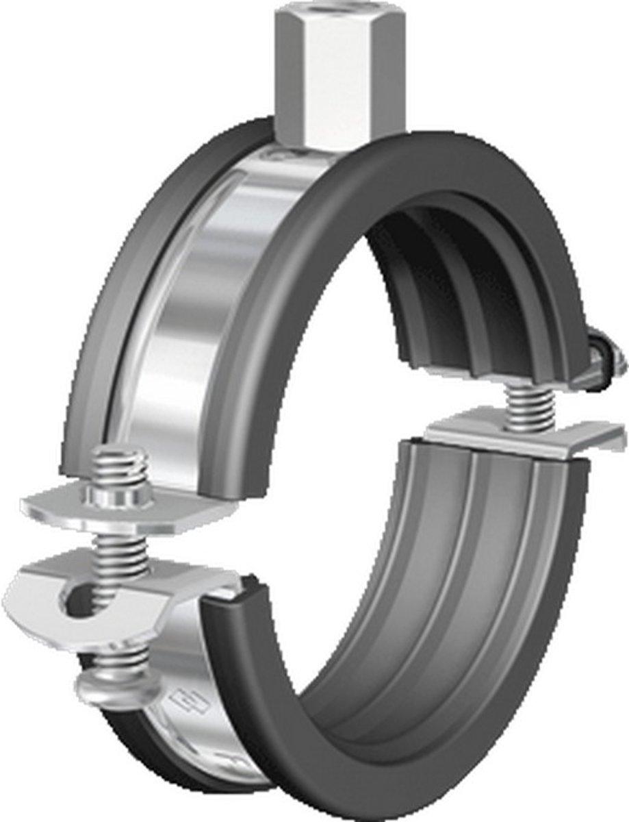 FLAM tweedelige beugel BSM, staal, blank, uitw buisdiam 58 - 61mm kopen