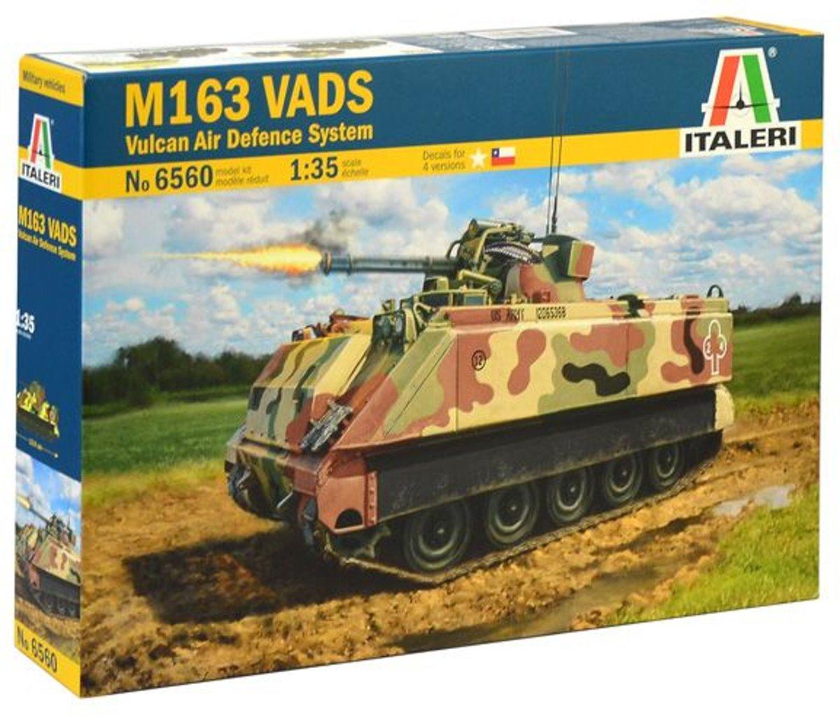 Italeri - M163 Vads 1:35 * (Ita6560s)