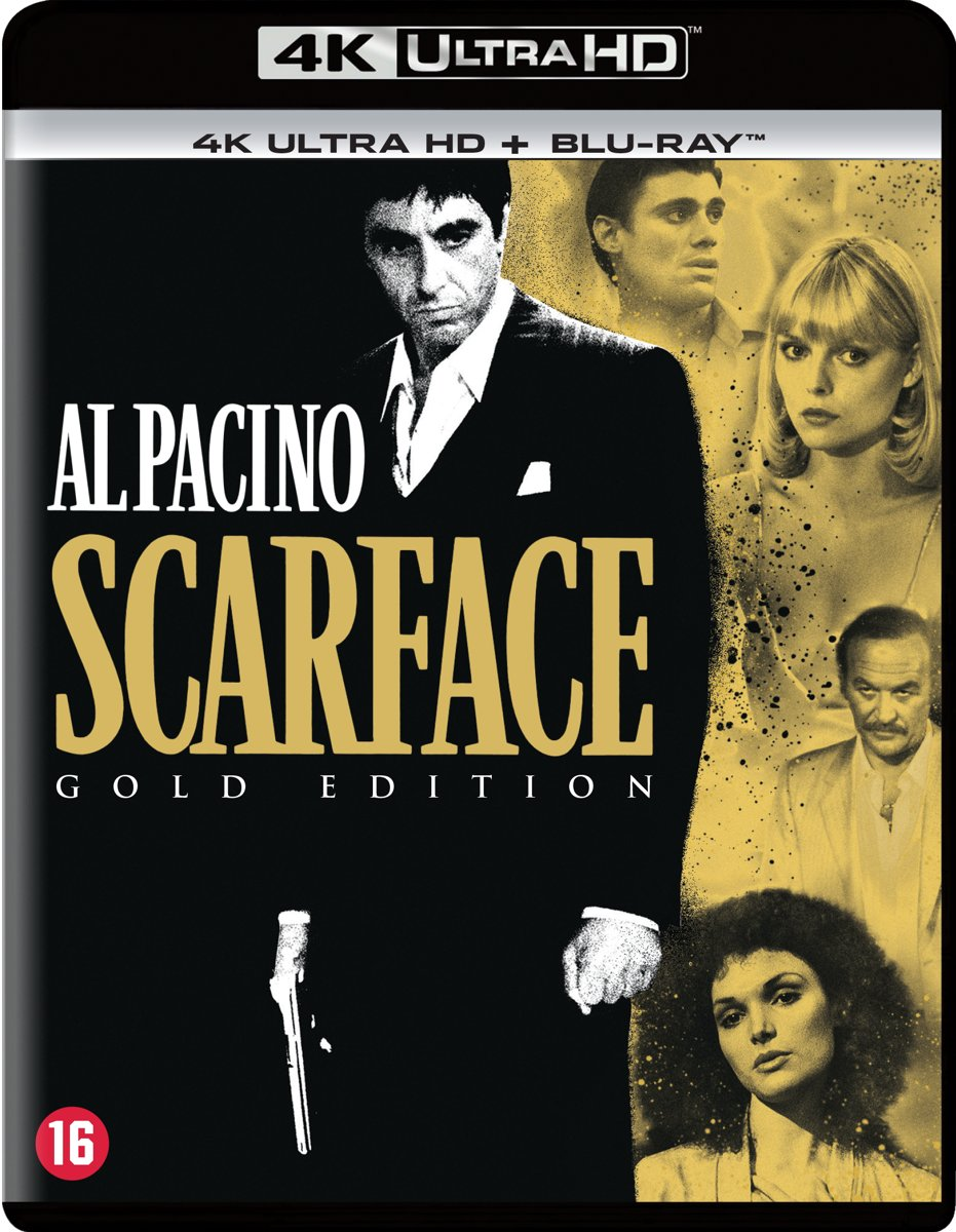 Scarface ('83) (4K Ultra HD)-