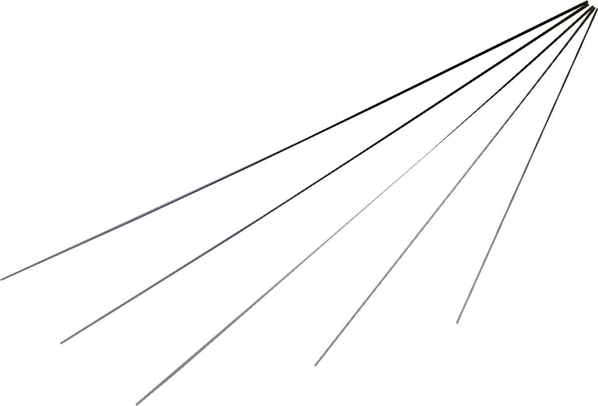 Hengeltop - carbon - 80 cm - 3.0 mm voetmaat