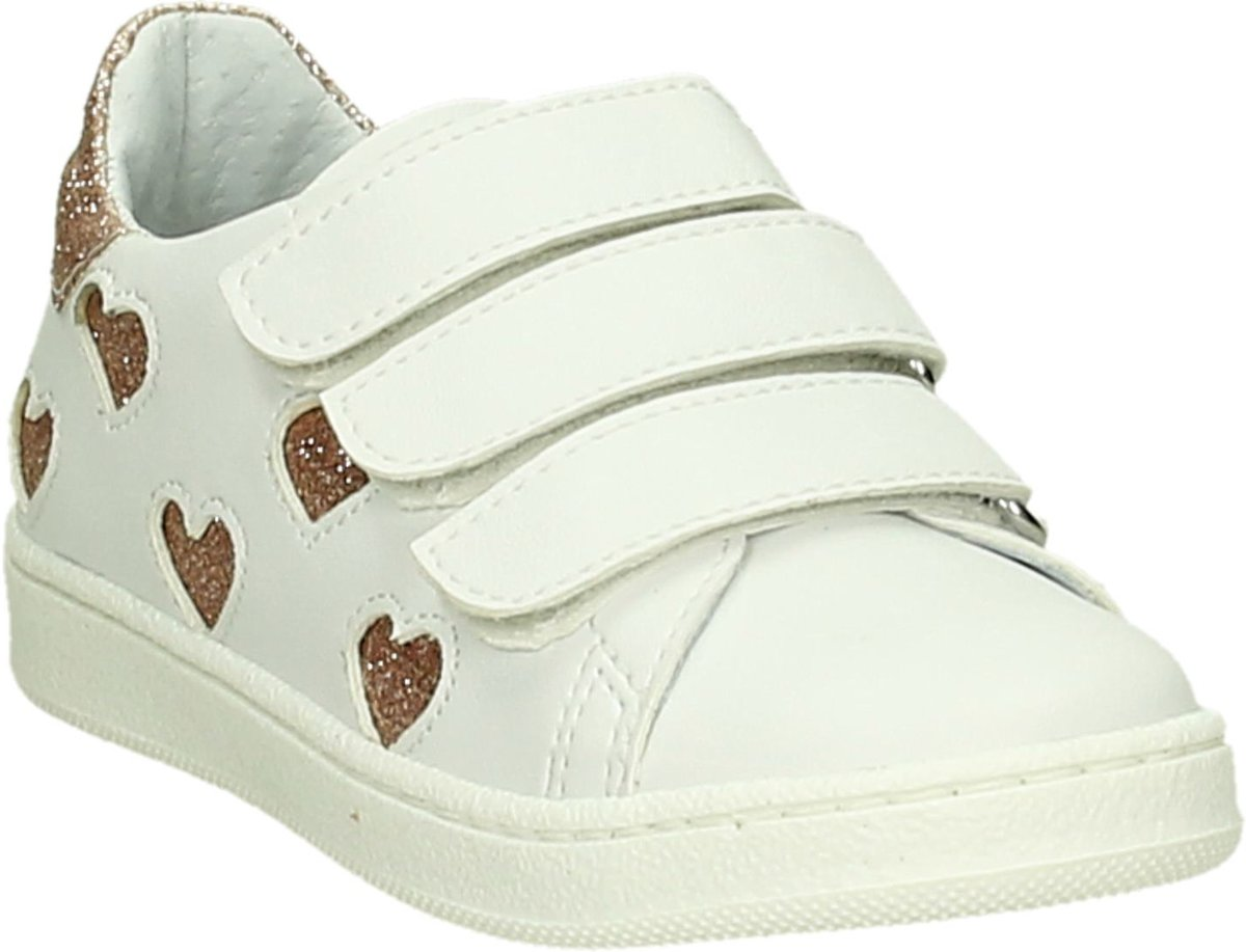 7173e1735b8 bol.com   K3 - Sp101-3c - Sneaker laag gekleed - Meisjes - Maat 31 - Wit -  pu nappa.