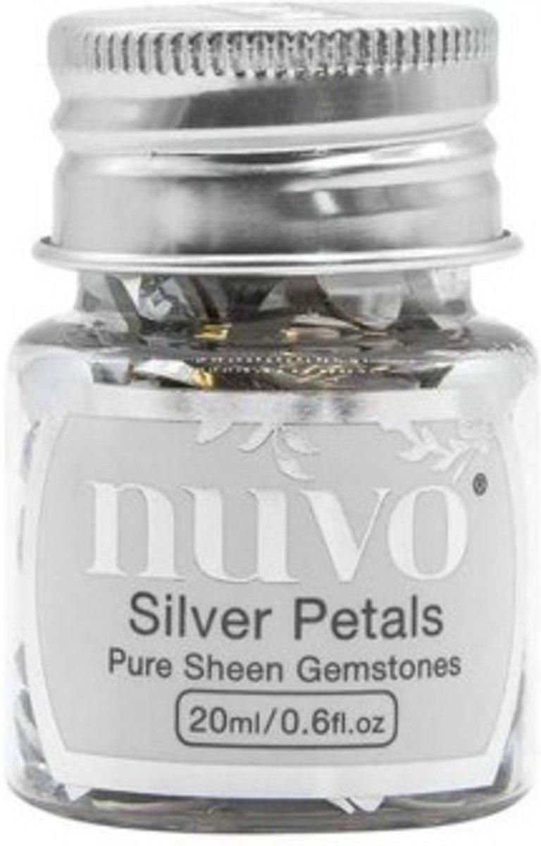 Afbeelding van product Tonic Studios • Nuvo gemstones assorted silver rectangles