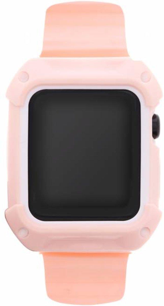 Roze Armour band voor de Apple Watch 38 mm kopen