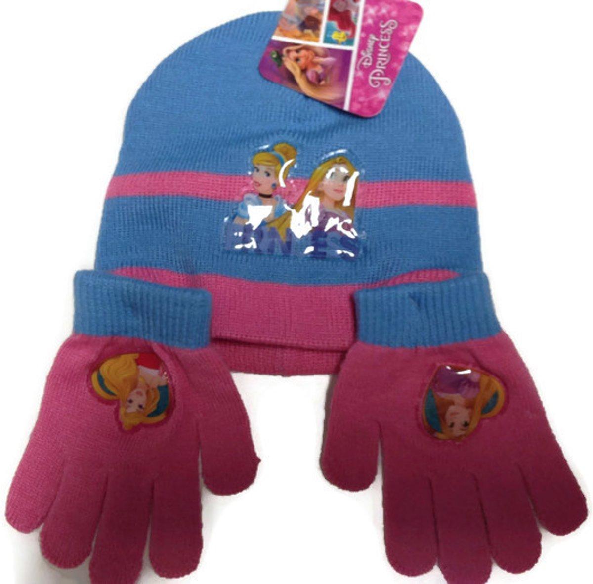 Muts en handschoenen|kleur blauw maat 2 tm 5 jaar kopen