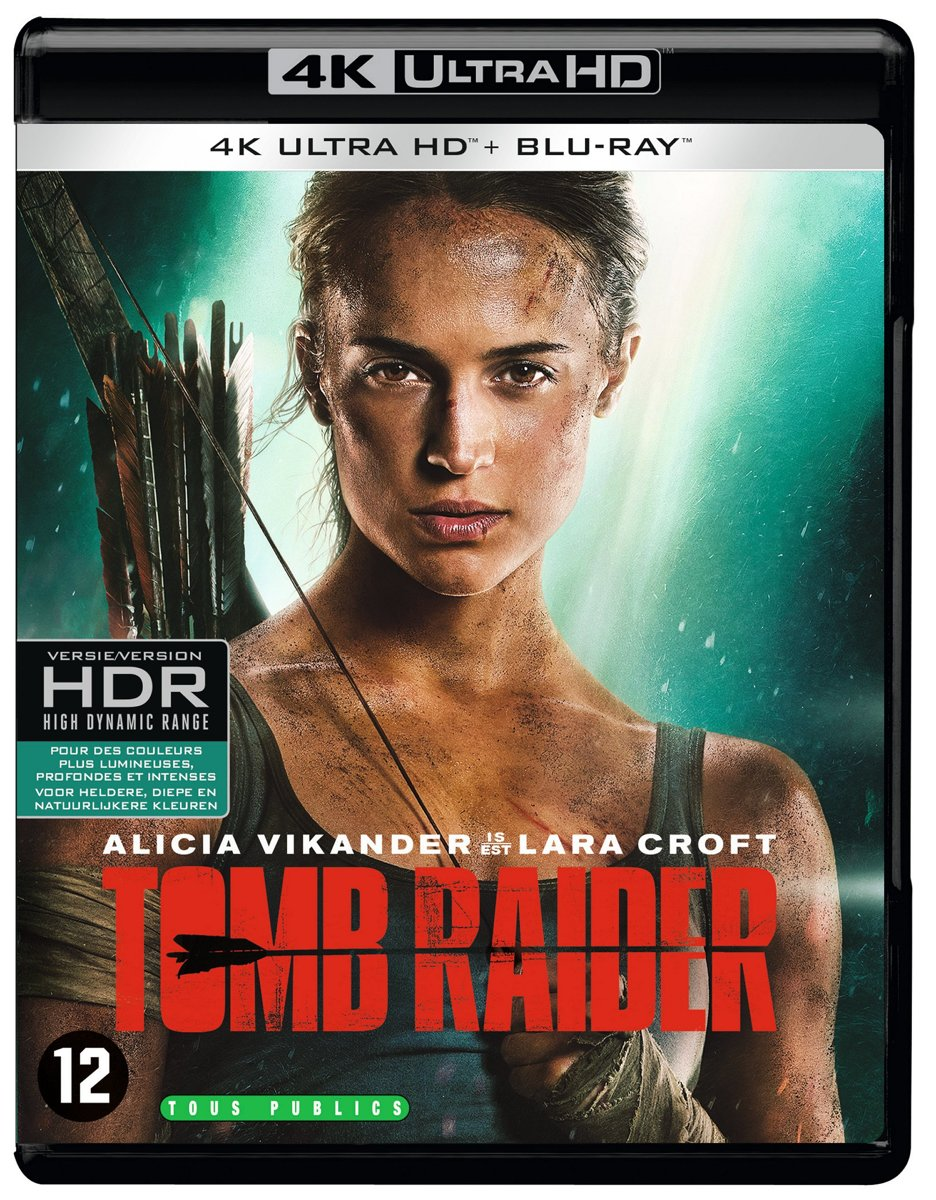 Tomb Raider (4K Ultra HD Blu-ray)-