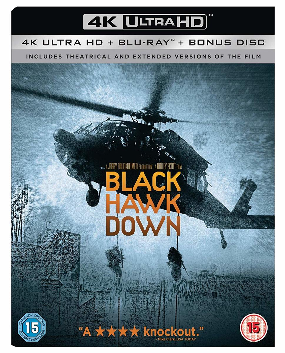 Black Hawk Down [4K Ultra HD + Blu-ray]-