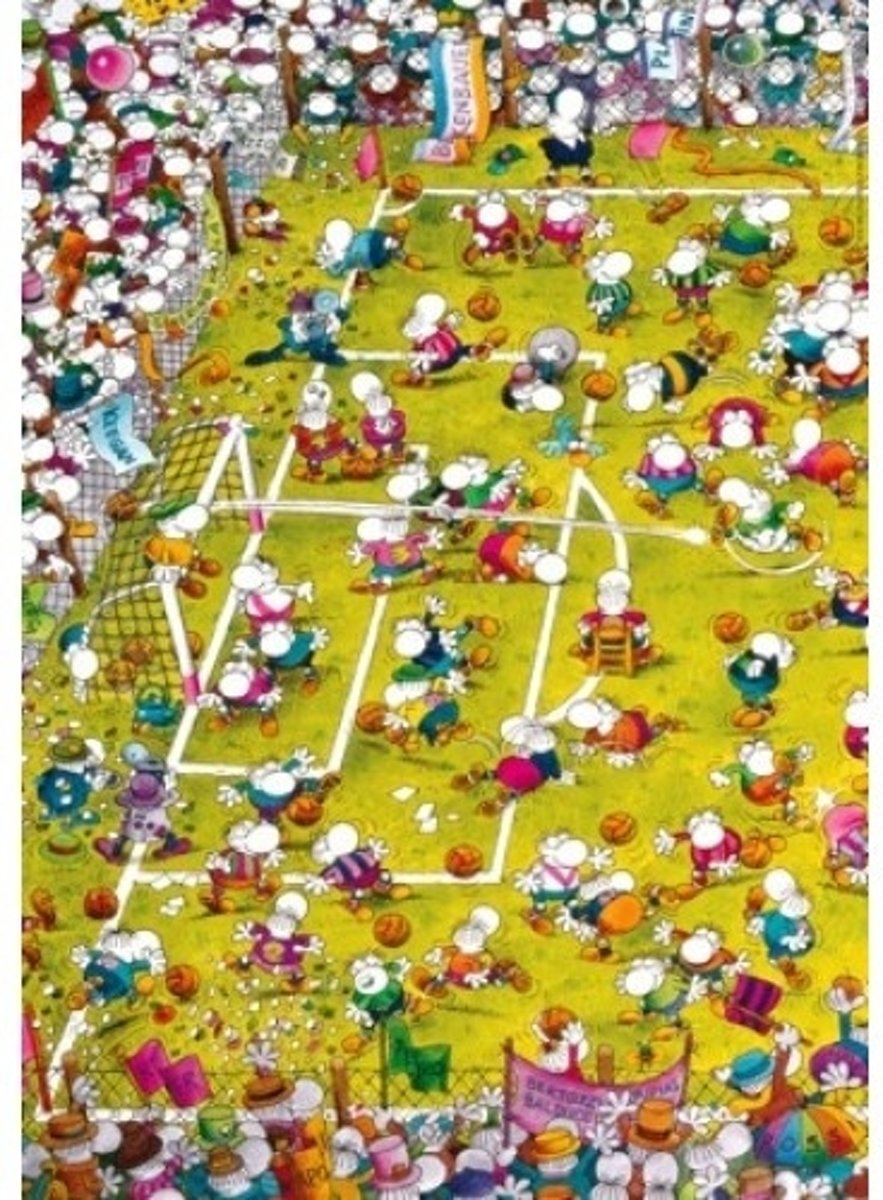 Crazy Football, Mordillo - Legpuzzel - 1000 Stukjes