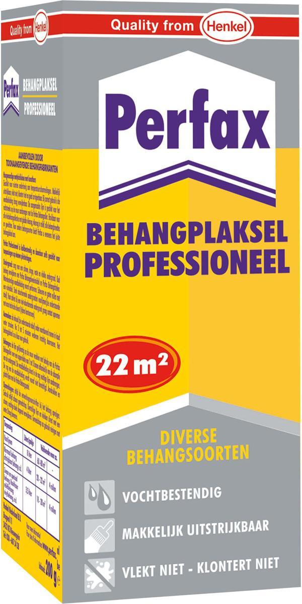 Perfax Professioneel Behanglijm Behangplaksel - 200 Gram - Wit kopen