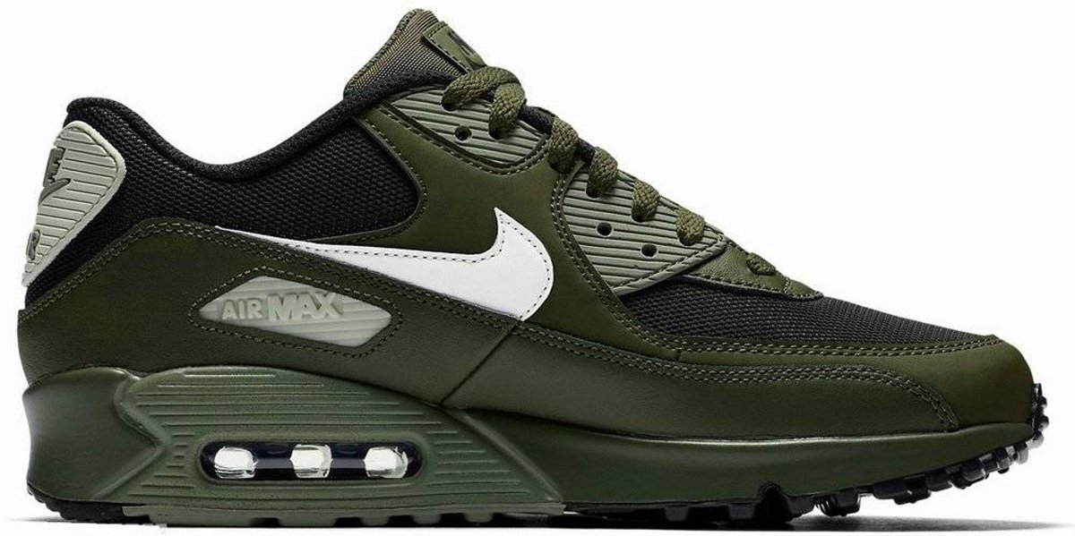 | Nike Air Max 90 Essential 537384 309 Leger Groen Zwart
