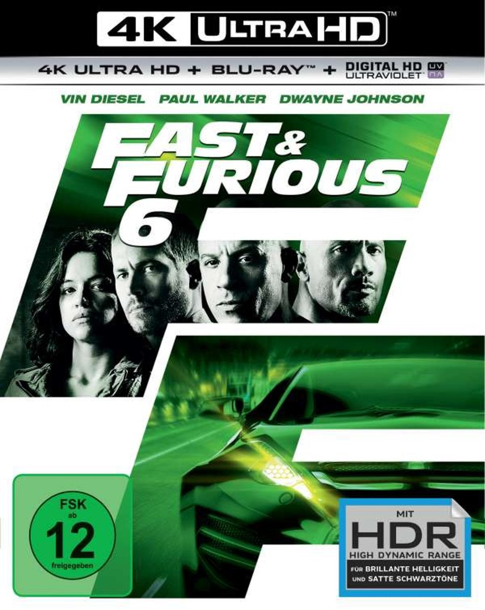 Fast & Furious 6 (Ultra HD Blu-ray & Blu-ray)-