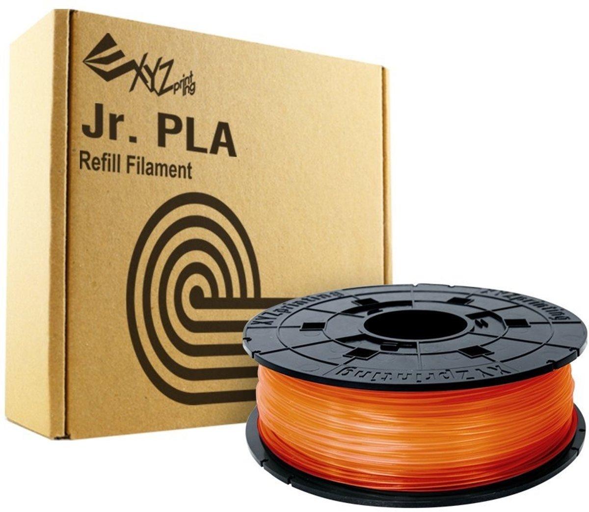 XYZprinting da Vinci Junior PLA Clear Tangerine 600gr