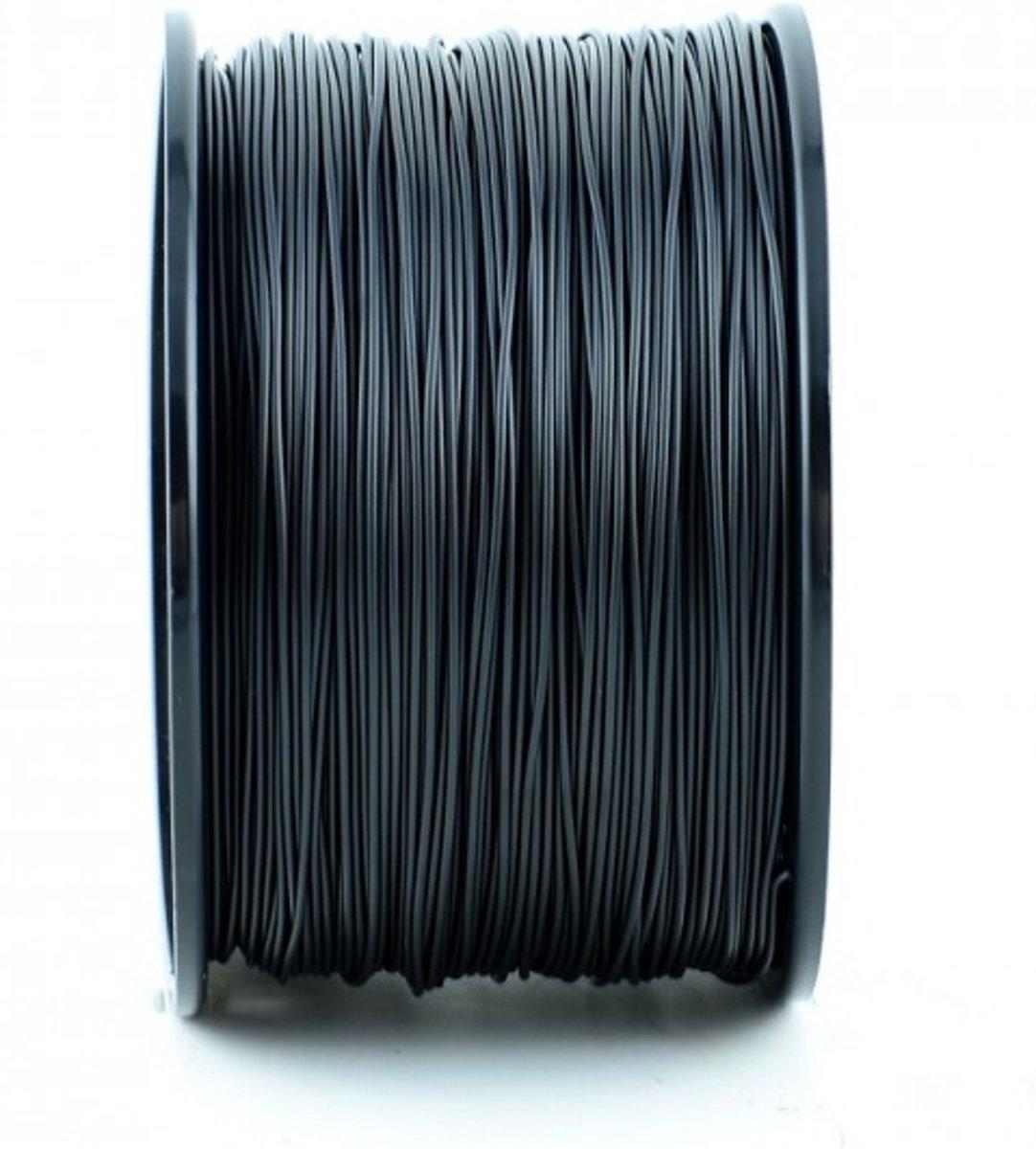 1.75mm zwart nylon filament